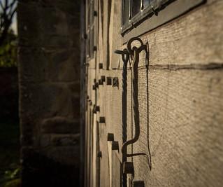 Langley  gate house - ironmongery