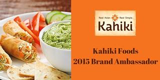 Kahiki Foods Blog Ambassador Program Logo