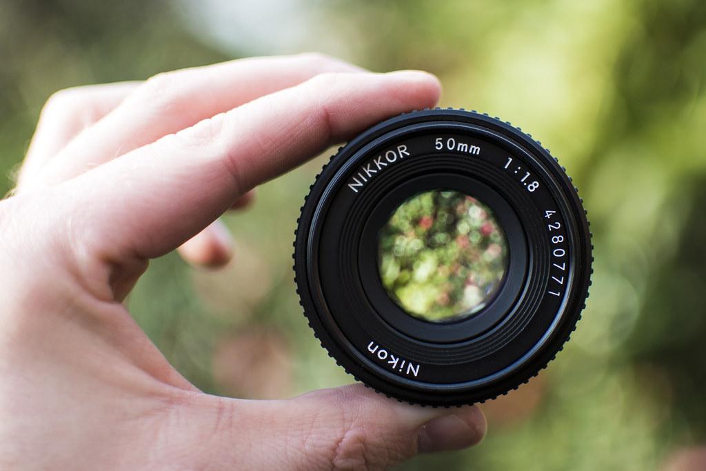 Nikkor 50mm f 1.8 AI-s  pancake  lens  c67ca215a19