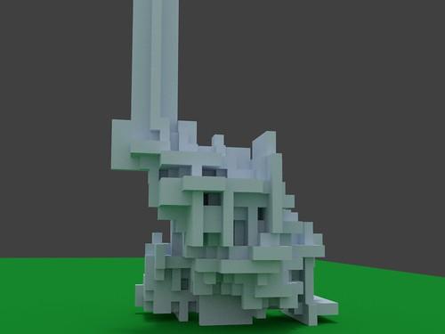3D Ant Automaton