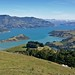 Small photo of Akaroa Harbour from Summit Road