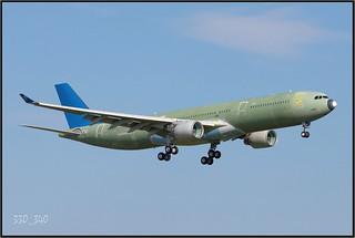 A330-323 China Southern Airlines B-5966(F-WWYU)  /  5658