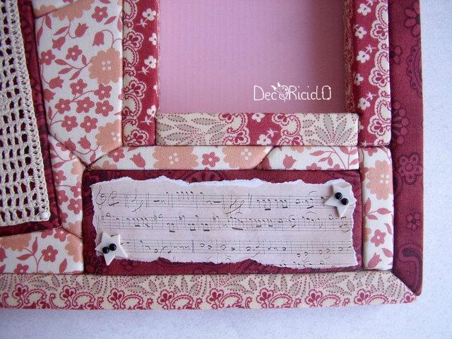 portafoto patchwork senz'ago chiave di violino 3-001