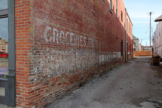 """Faded Advertisement (""""Ghost Sign"""") - London, OH"""