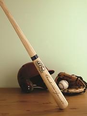 hand(0.0), plucked string instruments(0.0), woodwind instrument(0.0), musical instrument(0.0), horn(0.0), guitar(0.0), wood(1.0), baseball bat(1.0),