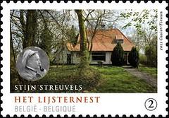 02c Maisons Ecrivains Stijn Streuvels timbre