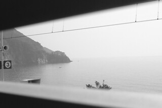 Monterosso - Train windown