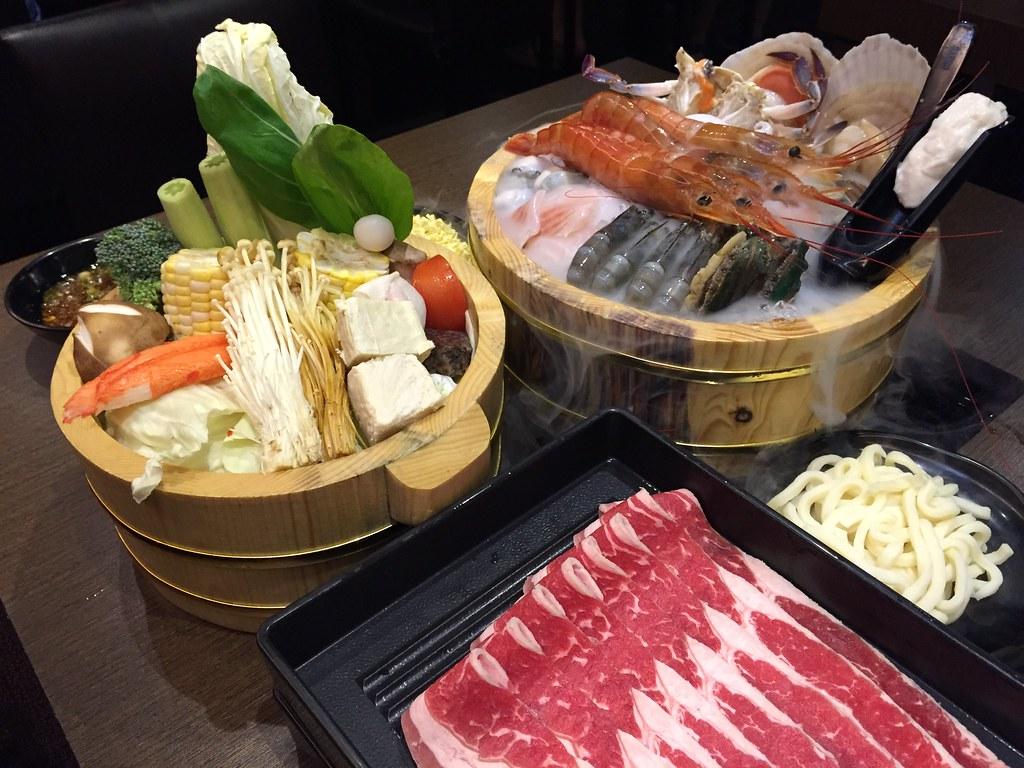 阿根廷野生天使紅蝦雙人套餐, 雙人天使紅蝦套餐, 小當家海鮮鍋物, 台北