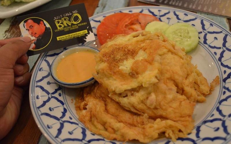 Bangkok Omelet with Sood Yut - Menu Terkini Boat Noodle 2015