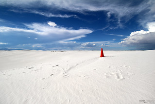 Sand Dunes, White Sands National Monument - New Mexico