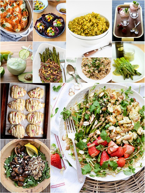 April Eat Seasonal Recipes