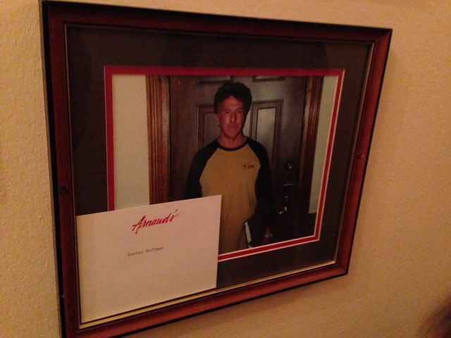 Dustin Hoffman at Arnaud's