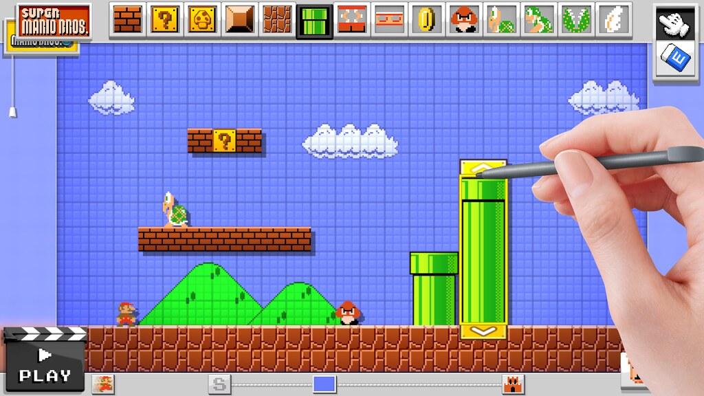 Nintendo divulga lançamento de Mario Maker na Europa