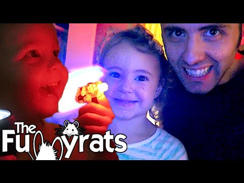 FLASHLIGHT PARTY! | Day 2145 - TheFunnyrats