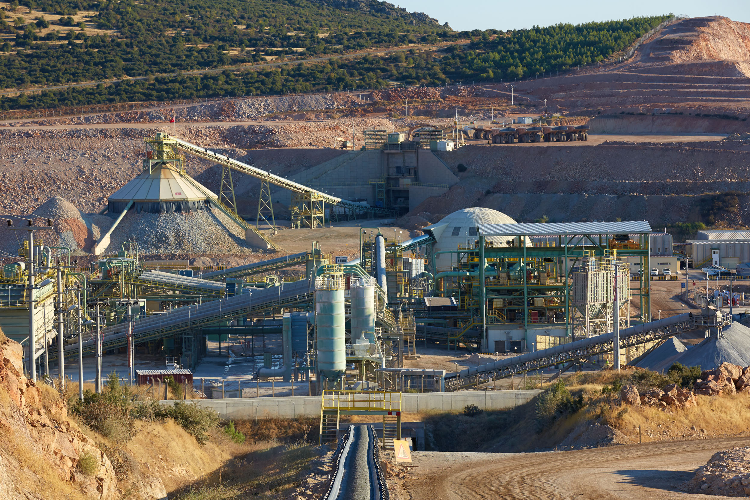 mining on website