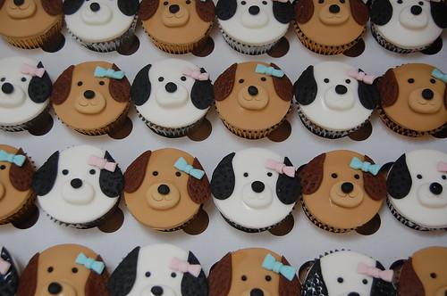 Playful Puppies Cupcakes Beautiful Birthday Cakes