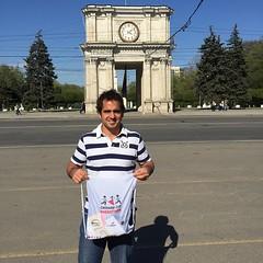 Coincidencia maxima, solo 1 dia en Moldovia y justo se hace la primera maraton!!! Alguna posibilidad de decir que no?