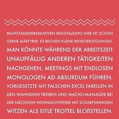 Regelverletzungen im Angestelltenkäfig https://ichsagmal.com/2016/07/27/betonkoepfe-zermuerben-machteliten-hacking-digitale-apo-ideeninfiltration-managerwatch-neo16x/ #AufstandderKreativen #DigitaleAPO