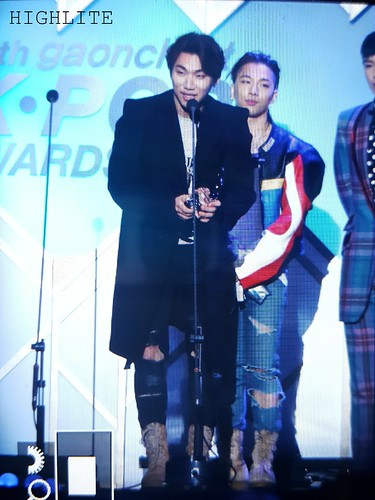 Big Bang - The 5th Gaon Char K-Pop Awards - 17feb2016 - High Lite - 08