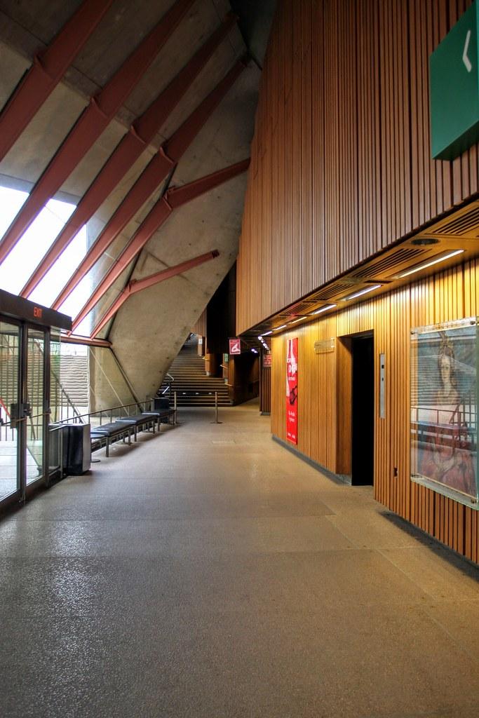 這是歌劇院廊道