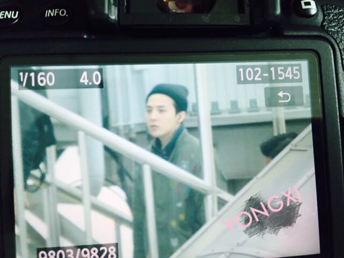 Big Bang - Fuzhou Airport - 29mar2015 - G-Dragon - 啾啾_yong_xi - 01