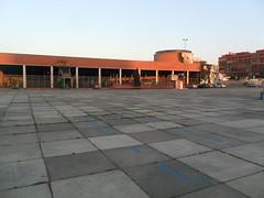 Parte trasera de la estación de autobuses Plaza de Armas, Sevilla
