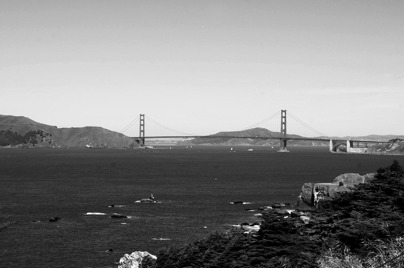 the bridge, from lands end
