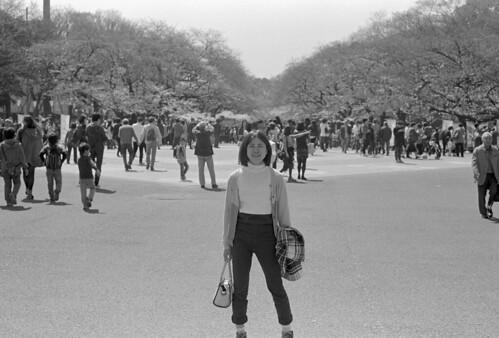 Heroine in Ueno Park