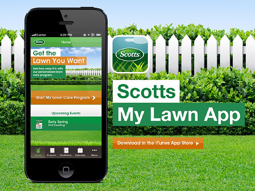 Scotts' free mobile app helps users create a custom lawn care plan