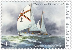 16 Voilier Z Gramme timbre