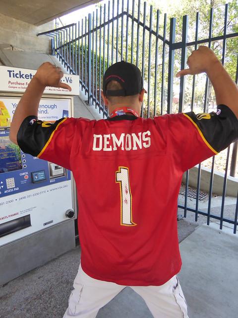 SF Demons Jersey