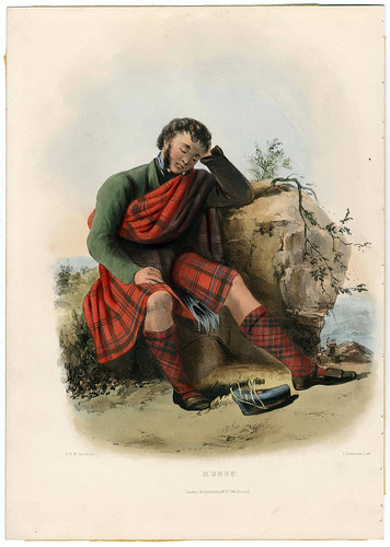 013-Clans_of_the_Scottish_Highlands_1847_Plate_047-The Metropolitan Museum of Art-Thomas J. Watson Library