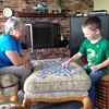 Memory...  They are enjoying their games together #memory #gameplay #itsaclosegame #whoswinning #funwithnana