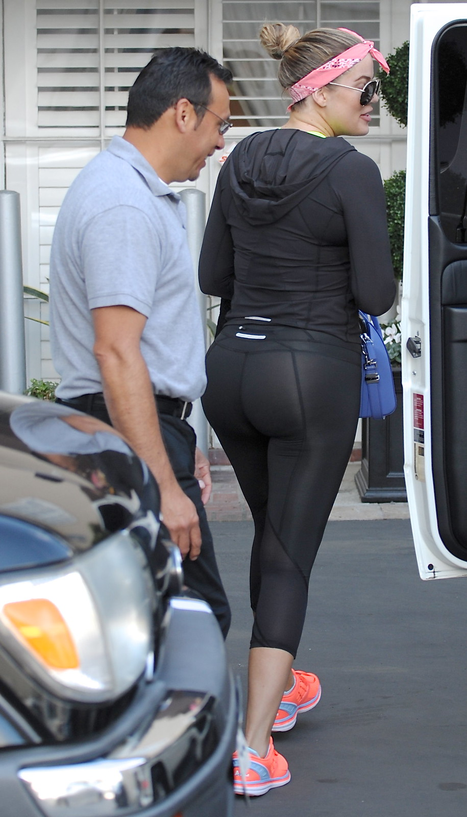 6447380299 Khloe Kardashian proudly shows off her Azz of Lies in rather sheer ...