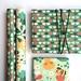 In the garden giftwrap - craftpaper