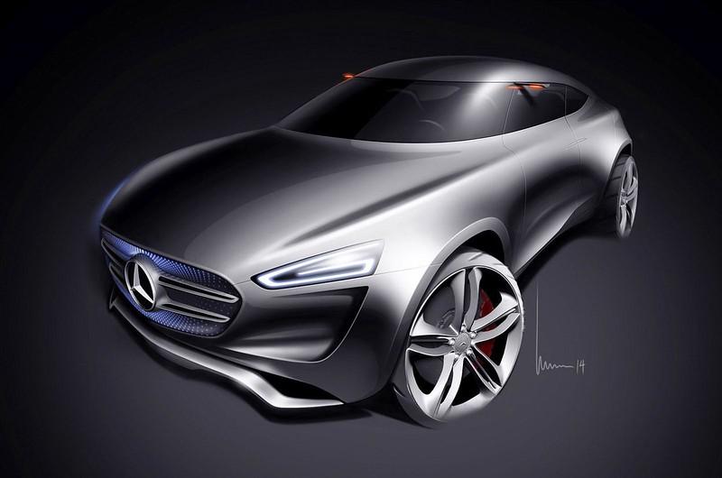Скетч Mercedes-Benz G-Code