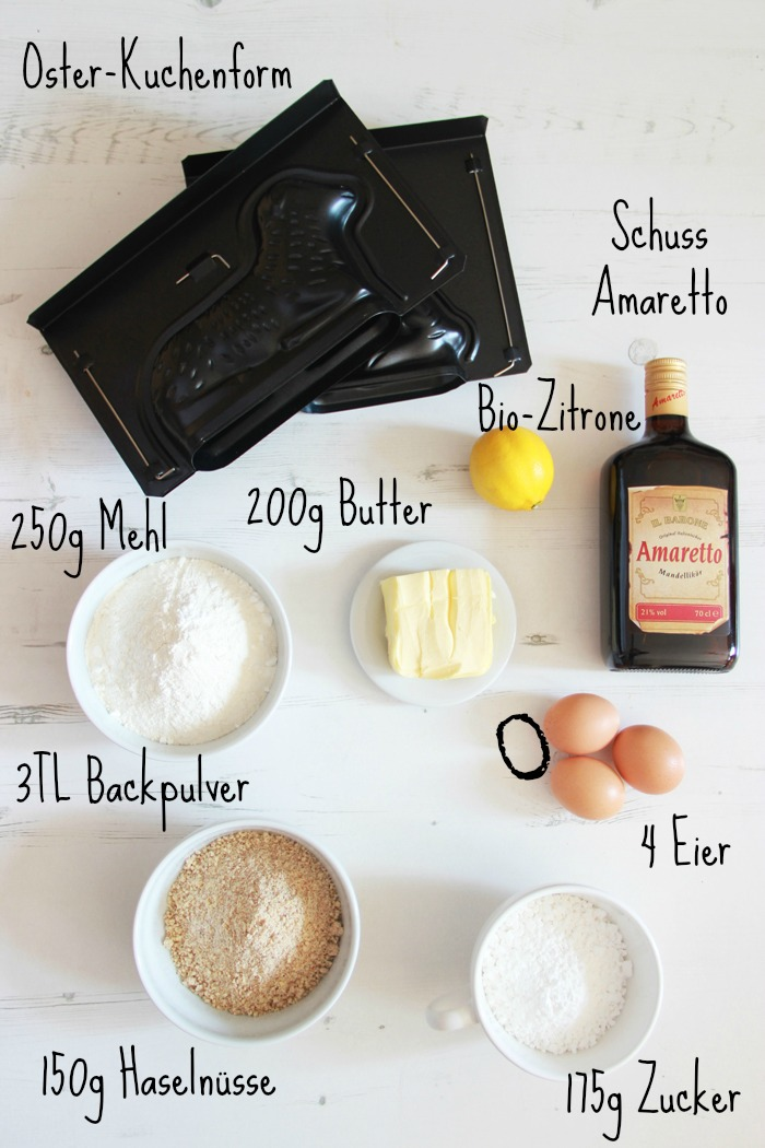 Rezept Osterlamm Osterhase Kuchen 02 Zutaten