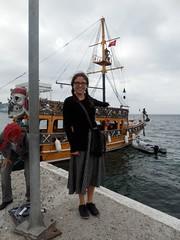 pirate ship = obligatory picture