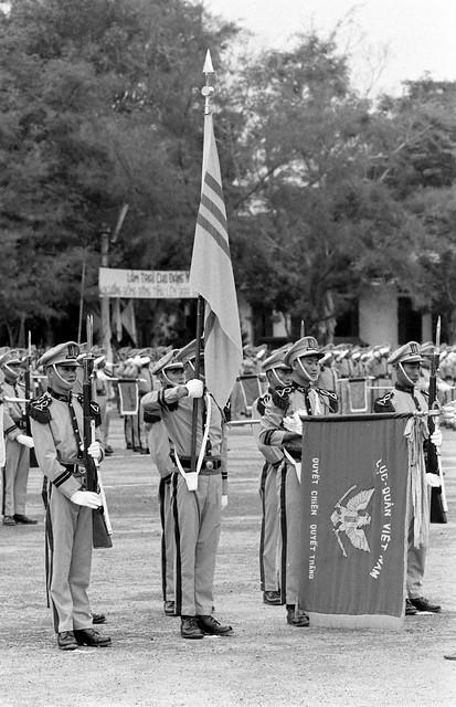 SAIGON 1967 - Thu Duc ARVN Infantry School - Trường Bộ Binh Thủ Đức - by Co Rentmeester