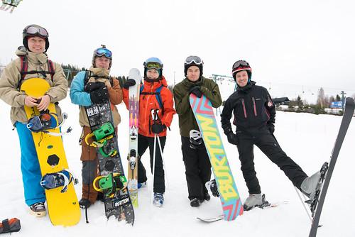 winter suomi finland nikon talvi skiers himos snowboarders d600 poutapilvi poutapilviwebdesign