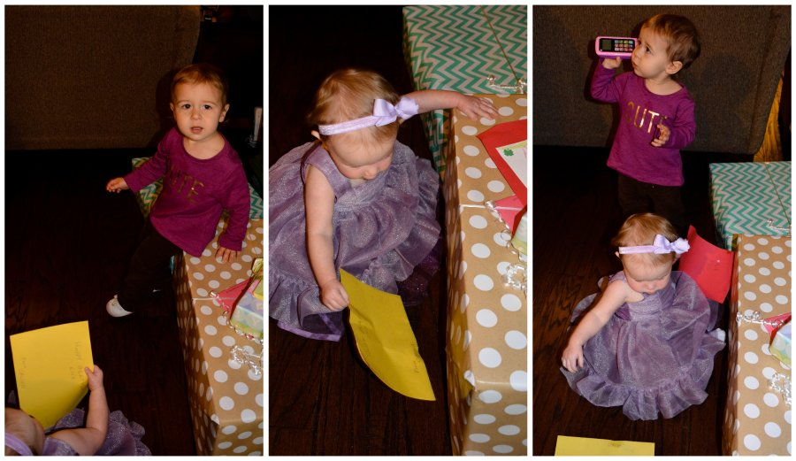 presents with olivia
