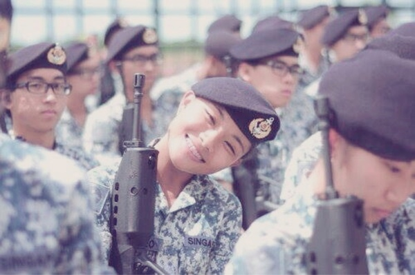 ME1 Clarie Teo is making me love the Singapore Navy - Alvinology