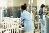 Nurses working in Neonatal intensive care unit, Yekatit Hospital Mediacl College.