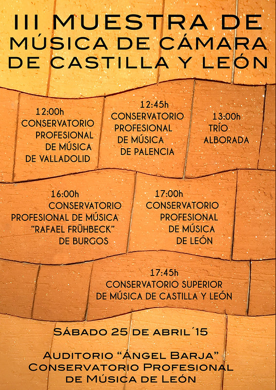 III MUESTRA DE MÚSICA DE CÁMARA DE CASTILLA Y LEÓN