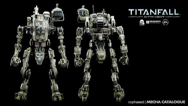 threezero TITANFALL 1/12 Stryder