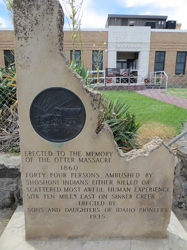 Otter Massacre monument