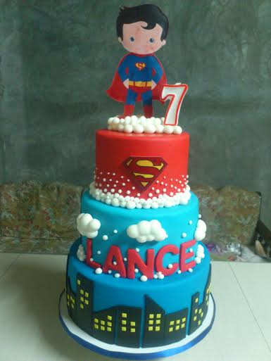 Little Superman by Harlyn Catbagan of HnR House of Cakes and Pastries