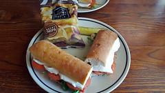 Caprese sandwiches at Corner Bakery, Boca Raton, F…