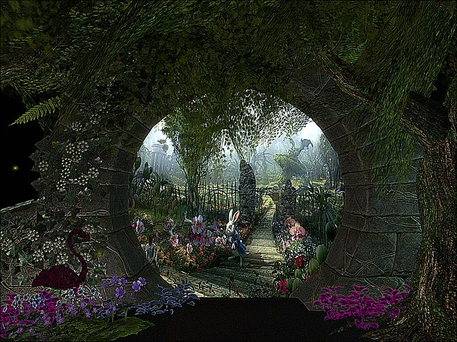 Enchanted Alice - Moongate Into Wonder Garden