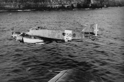 Savoia-Marchetti SM 79 Sparviero . from 58 Squadron 32 group 10-th wing